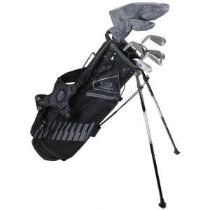 US Kids Ultralight UL60 7 Club DV3 Junior Golf Stand Set Black/Grey Bag