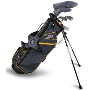 U.S. Kids UL63 5 Club Junior Golf Set Grey/Gold Bag