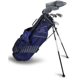 U.S. Kids UL63 5 Club Junior Golf Set Navy/Grey Bag