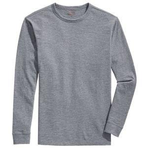 vineyard vines Garment-Dyed Slub Long-Sleeve Island Crewneck Golf Shirt