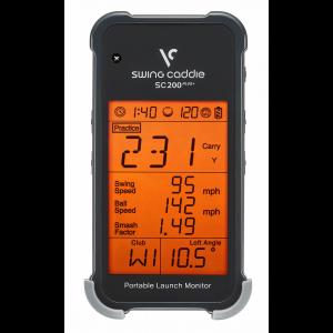 Voice Caddie Swing Caddie SC200 Plus Portable Golf Launch Monitor