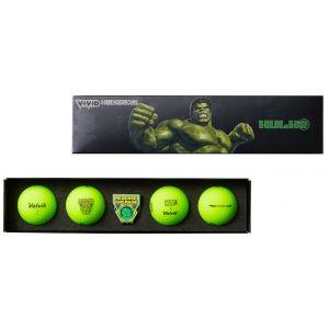 Volvik Vivid Marvel 2.0 Golf Ball Gift Set The Incredible Hulk