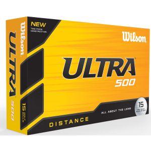 Wilson Ultra Distance 500 Golf Balls 15 Ball Pack - ON SALE