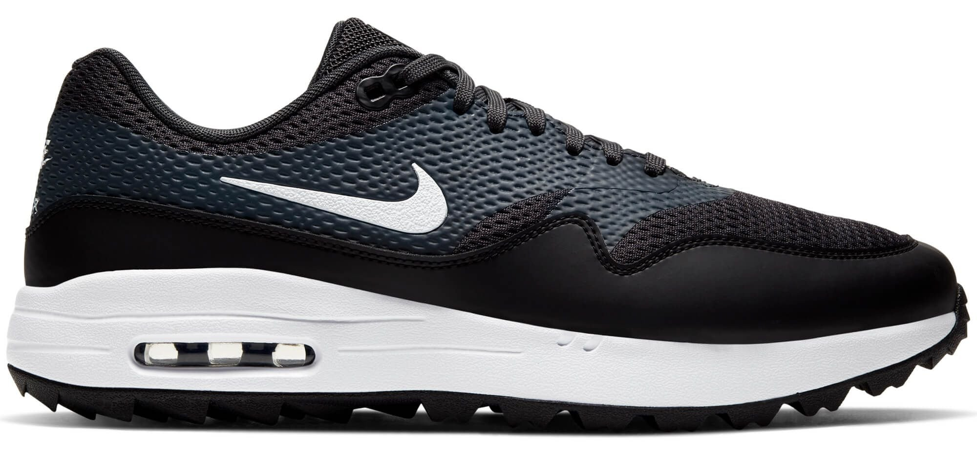 Nike Air Max 1 G Golf Shoes Black/Anthracite/White - Carl's Golfland