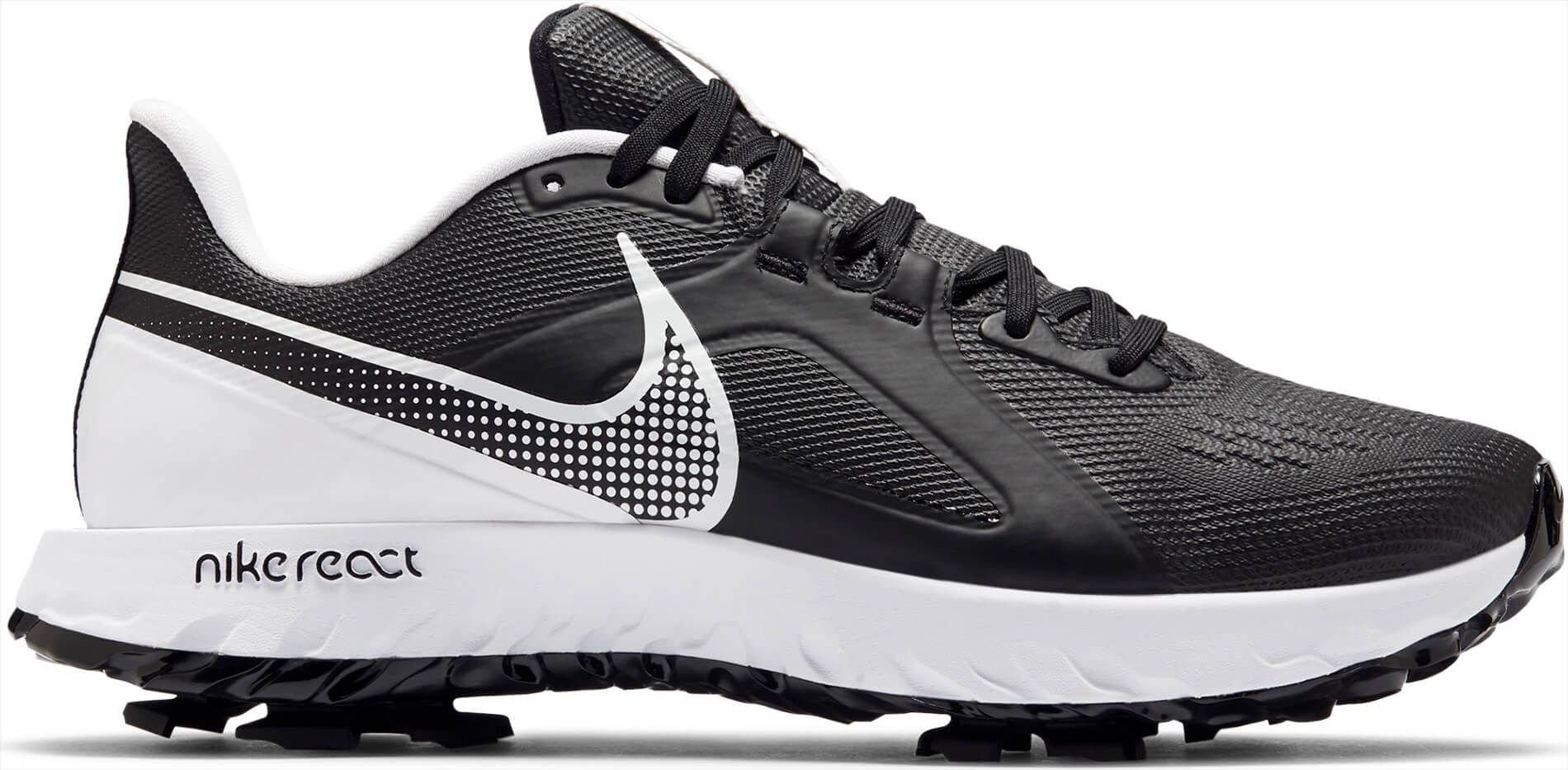 Nike React Infinity Pro Golf Shoes 2021 - Black/White