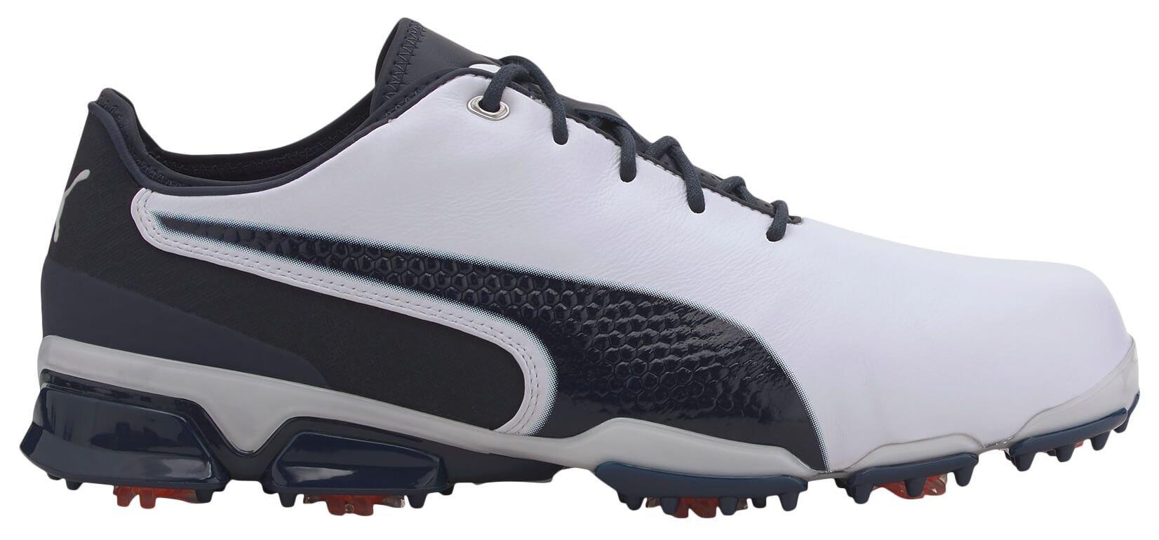Puma IGNITE PROADAPT Golf Shoes - White/Peacoat