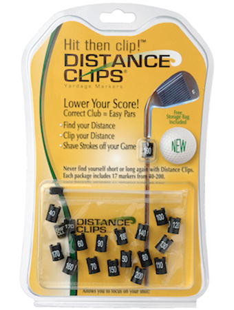 Image of DISTANCE CLIPS YARDAGE MARKERS