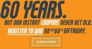 60 for 60th Giftaway