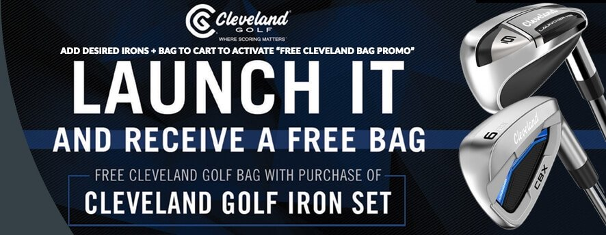 Cleveland Launcher Bag Promo