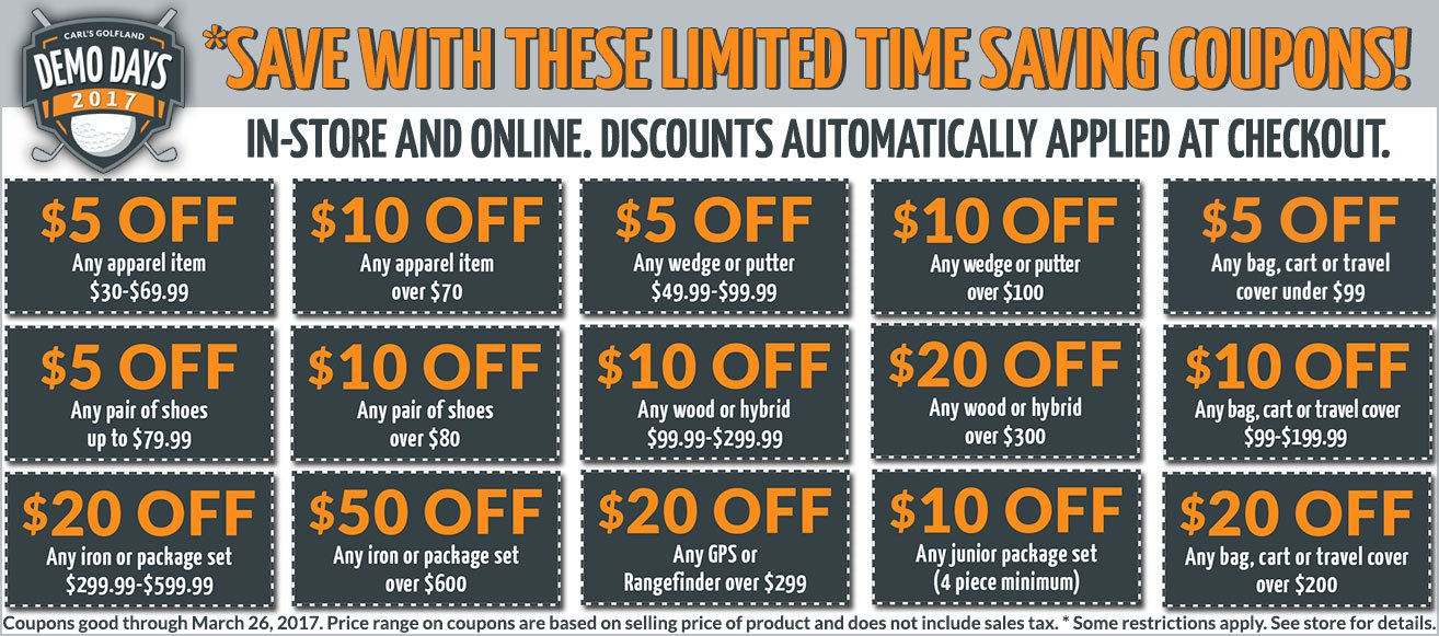 Demo Day Coupons