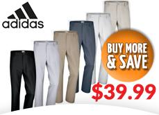Adidas Flat Front Pants