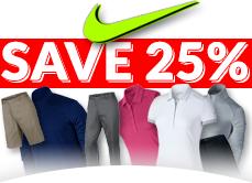 25 Off Nike Apparel