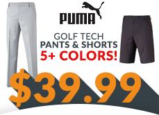 Puma Golf Tech Bottoms