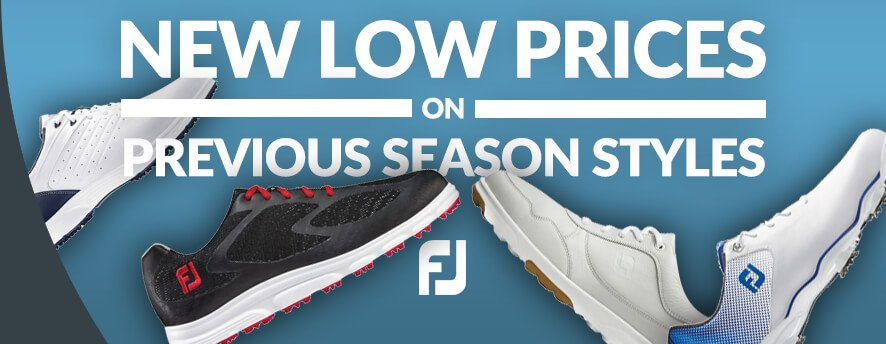 FootJoy Previous Season Styles
