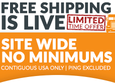 Free Shipping Starts Now