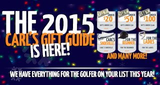 Carl's Golfland Gift Guide