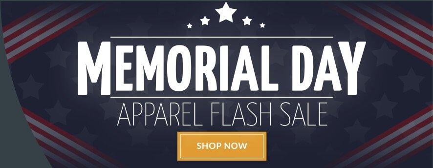 Memorial Day Flash Apparel Sale