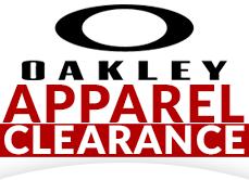 Oakley Apparel Clearance