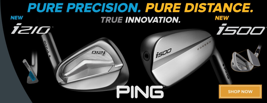 PING i210 & i500 Irons