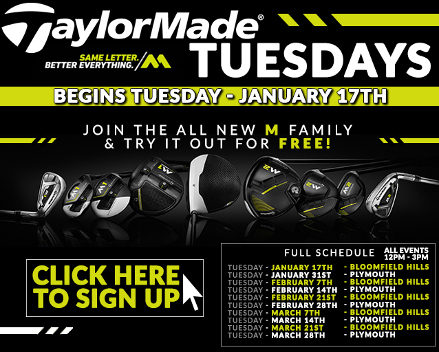 TaylorMade Fitting Event