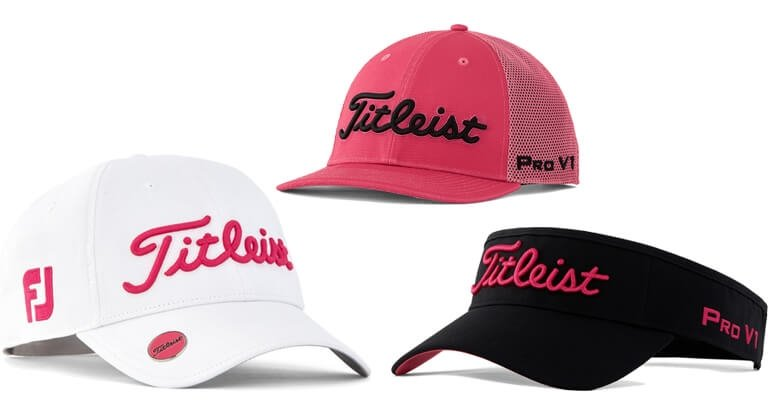 Titleist Pink Out Headwear