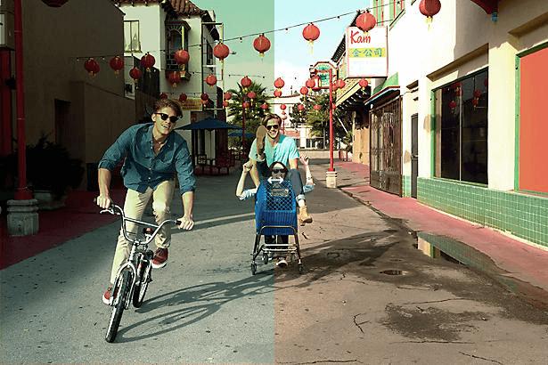 Ray-Ban Justin Flash Blue Sunglasses - Green Gradient Mirror Lens